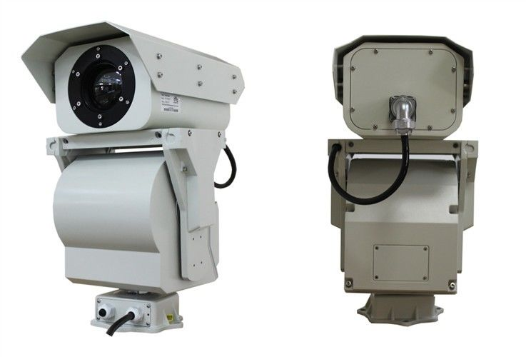 Outdoor HD Video Thermal Security Camera For Long Range Seaport Security