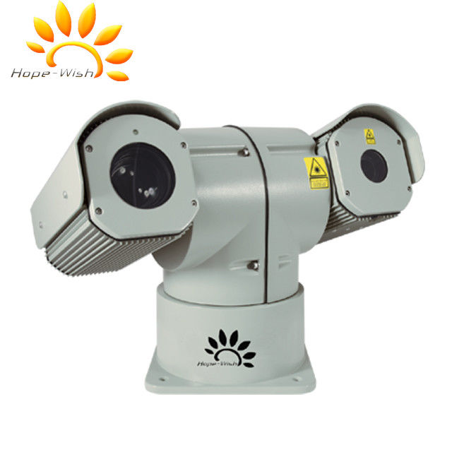 RJ45 1080P PTZ Laser Camera 500m Security With Aluminum Alloy Housing